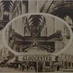 Real Photogravure Letter Card Of Gloucester, 1938