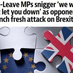 Penny Mordaunt, Suella Fernandes On Brexit